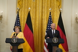 Photos From Biden Holds a Joint Press Conference with Dr. Angela Merkel the Chancellor of Germany