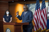Photo - House Rep James Clyburn (D-SC) offers remarks as he joins House Speaker Nancy Pelosi (D-Calif) and others during a press conference on the Trump Administrations response to and Democrats plan for COVID-19 testing in the House Visitors Center Studio at the US Capitol in Washington DC Wednesday May 27 2020 Credit Rod Lamkey  CNPAdMedia