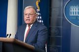 Photos From White House Press Secretary Kayleigh McEnany Holds Press Briefing