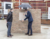 Photo - Prince William at Royal Marsden Hospital to Mark Construction of Oak Cancer Centre