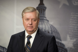 Photo - United States Senator Lindsey Graham (Republican of South Carolina) holds a press conference at the US Capitol