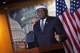 Photo - United States House Assistant Democratic Leader James Clyburn (Democrat of South Carolina) speaks about Internet bandwidth availability during a news conference at the United States Capitol in Washington DC US on Wednesday June 24 2020  Credit Stefani Reynolds  CNPAdMedia