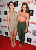 Ashley Cole Photo - 18 March 2015 - Los Angeles California - Arabella Oz Ashley Cole Arrivals for the Los Angeles premiere of Zombeavers held at The Theaters at Ace Hotel Photo Credit Birdie ThompsonAdMedia