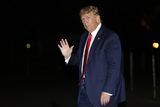 Photo - Donald Trump Returns from Georgia
