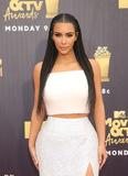 Photo - 16 June 2018-  Santa Monica California - Kim Kardashian 2018 MTV Movie And TV Awards held at Barker Hangar Photo Credit Faye SadouAdMedia
