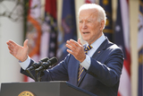 Photos From Biden, Harris speak on American Rescue Plan from White House