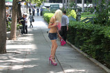 Photo - Celebrity Big Brother Star Frenchy Morgan spotted in Koreatown
