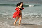 Natasha Blasick Photo - Natasha Blasickthe All Star Weekend Actress is spotted having fun in a tiny black bikini at the beach on a hot Southern California day Malibu CA 09-09-18