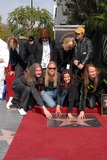 Alex Orbison Photo - Jeff Lynne Joe Walsh Dan Aykroyd Barbara Orbison Wesley Orbison Alex Orbison Roy Orbison Jr at the induction ceremony for Roy Orbison  into the Hollywood Walk of Fame Hollywood CA 01-29-10