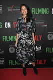 Photos From Rosario Dawson at the Social Justice Filming in Italy Awards