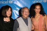 Anoushka Shankar Photo - Olivia Harrison Ravi Shankar and Anoushka Shankar at the UNICEF Goodwill Gala 50 Years of Celebrity Advocacy at the Beverly Hilton Hotel Beverly Hills CA 12-03-03