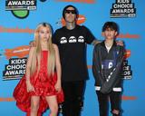 Alabama Barker Photo - LOS ANGELES - MAR 24  Alabama Barker Travis Barker Landon Barker at the 2018 Kids Choice Awards at Forum on March 24 2018 in Inglewood CA