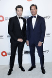 Andrew Rannells Photo - LOS ANGELES - FEB 9  ANdrew Rannells Tuc Watkins at the 28th Elton John Aids Foundation Viewing Party at the West Hollywood Park on February 9 2020 in West Hollywood CA