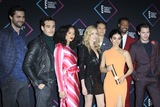 Alisha Wainwright Photo - LOS ANGELES - NOV 11  Cast of Shadow Hunters (L-R)- Matthew Daddario Alberto Rosende Alisha Wainwright Katherine McNamara Harry Shum Jr Emeraude Toubia Isaiah Mustafa and Dominic Sherwood at the Peoples Choice Awards 2018 at the Barker Hanger on November 11 2018 in Santa Monica CA