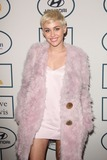 Photo - Photo by Quasarstarmaxinccom2014ALL RIGHTS RESERVEDTelephoneFax (212) 995-119612514Miley Cyrus at a Pre-Grammy party(Los Angeles CA)