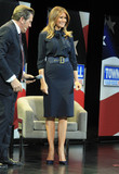 Photos From Melania Trump promotes her