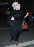 Photos From Joyce Bonelli is seen at LAX Airport in Los Angeles