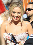 Photos From Margot Robbie is seen at the Grove in Hollywood