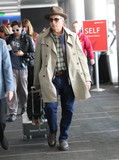 Photos From Andy Garcia is seen at LAX Airport in Los Angeles