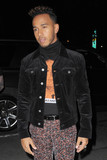 Photos From Lewis Hamilton is seen in New York City