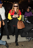 Photos From Thylane Blondeau is seen at LAX in Los Angeles, CA