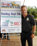 Alonzo Mourning Photo - IndyCar champion Tony Kanaan attends a press conference for the 1-800-411-PAIN Great Grove Bed Race held at Grove Isle Hotel and Spa in Coconut Grove  The Great Grove Bed Race will take place on September 4th and consists of four team members pushing sponsored beds on wheels down a street in Coconut Grove racing to the finish line with one rider on the mattress all to benefit Alonzo Mourning Charities and the University of Miami Sleep Center Miami FL 082410