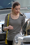 At Last Photo - EXCLUSIVE Nominee for Best Actress at last weeks Academy Awards Hailee Steinfeld gets in some shopping at the HM showroom Hailee who was nominated for her role in the film True Grit was all smiles as she left carring a garment bag full of clothing West Hollywood CA 3311Fees must be agreed prior to publication