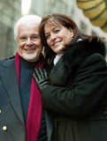 Anne Hampton Callaway Photo - Peter Nero and Ann Hampton Callaway at the 77th Annual Macys Thanksgiving Day Parade in New York City on November 27 2003 Photo Henry McgeeGlobe Photos Inc 2003