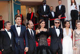 Asghar Farhadi Photo - CANNES FRANCE - MAY 8 Eduard Fernandez Javier Bardem Asghar Farhadi Penelope Cruz Ricardo Darin Sara Salamo Carla Campra attend the screening of Everybody Knows (Todos Lo Saben) and the opening gala during the 71st annual Cannes Film Festival at Palais des Festivals on May 8 2018 in Cannes France(Photo by Laurent KoffelImageCollectcom)