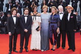 Anna Mouglalis Photo - VENICE ITALY - SEPTEMBER 09 Venezia 74 jury members Michel Franco Edgar Wright Anna Mouglalis Annette Bening Jasmine Trinca Yonfan David Stratton and Ildiko Enyedi arrive at the Award Ceremony during the 74th Venice Film Festival at Sala Grande on September 9 2017 in Venice Italy(Photo by Laurent KoffelImageCollectcom)