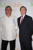 ANDRE COINTREAU Photo - Cordon Bleu Executive Chef Patrick Martin and Le Cordon Bleu President and CEO Andre Cointreau arriving at the Julie  Julia premiere at the Ziegfeld Theatre on July 30 2009 in New York City