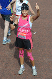 Javine Photo - Javine Hylton finishes the 2013 London Marathon on The Mall London 22042013 Picture by Steve Vas  Featureflash
