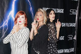Allie Gonino Photo - Grace Bannon Allie Gonino Atherine Kim 10162018 The Los Angeles premiere of High Voltage held at TCL Chinese Theatre in Hollywood CA Photo by Hiro Katoh  HollywoodNewsWireco