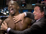 Terry Sylvester Photo - From the film The Expendables actors Terry Crews and Sylvester Stallone (R) pictured on the trading floor after ringing the opening bell at the New York Stock Exchange in New York City on August 19 2010