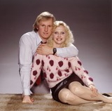 Photo - LIBRARY-Peter Davison  and Sandra Dickinson
