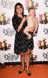 Adele Silva Photo - LondonUK   Adele Silva and Sienna at Digby Dragon World Premiere held at The Conservatory Barbican Centre London 2nd July 2016  RefLMK392-60800-030716  Vivienne VincentLandmark Media WWWLMKMEDIACOM