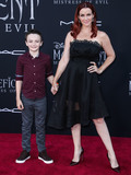 Annie Wersching Photo - HOLLYWOOD LOS ANGELES CALIFORNIA USA - SEPTEMBER 30 Freddie Full and Annie Wersching arrive at the World Premiere Of Disneys Maleficent Mistress Of Evil held at the El Capitan Theatre on September 30 2019 in Hollywood Los Angeles California United States (Photo by Xavier CollinImage Press Agency)