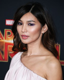 Gemma Chan Photo - HOLLYWOOD LOS ANGELES CA USA - MARCH 04 Actress Gemma Chan arrives at the World Premiere Of Marvel Studios Captain Marvel held at the El Capitan Theatre on March 4 2019 in Hollywood Los Angeles California United States (Photo by Xavier CollinImage Press Agency)