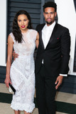 Photo - (FILE) Jurnee Smollett Files for Divorce From Josiah Bell After Nearly 10 Years of Marriage BEVERLY HILLS LOS ANGELES CALIFORNIA USA - FEBRUARY 22 Actress Jurnee Smollett-Bell and husbandmusician Josiah Bell arrive the 2015 Vanity Fair Oscar Party held at the Wallis Annenberg Center for the Performing Arts on February 22 2015 in Beverly Hills Los Angeles California United States (Photo by Xavier CollinImage Press Agency)