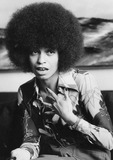 Angela Davis Photo - Angela Davis Promoting Her Autobiography in Stockholm Sweden 1975 Photo by Globe Photos