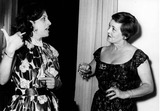 Anna Magnani Photo - Bette Davis with Anna Magnani 1956 Photo by Gilloon Photo-Globe Photos Inc