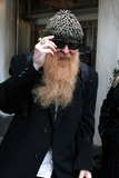 ZZ Top,Billy Gibbons Photo - Billy Gibbons Ofzz Top Rock Group Leaving His Hotel New York City