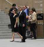 Gregory Peck,Harrison Ford,Calista Flockhart Photo - Gregory Peck Funeral