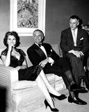 John Lodge Photo - Sophia Loren Stanley Kramer and Ambassador to Spain John Lodge 1957 Supplied by Globe Photos Inc Sophialorenretro
