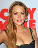Lindsay Lohan Photos - Lindsay Lohan attending the Los Angeles Premiere of Scary Movie V Held at the Arclight Cinerama Dome in Hollywood California on April 11 2013 Photo by D Long- Globe Photos Inc